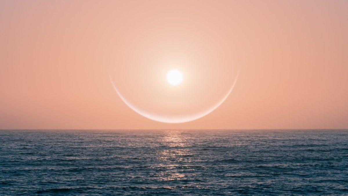 輝く太陽の環